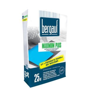 Клей Bergauf Keramik Maximum Plus 25 кг