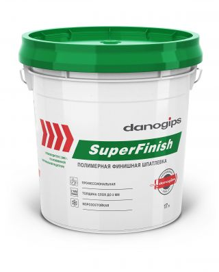 Шпатлевка Danogips SuperFinish 28 кг (17 л)